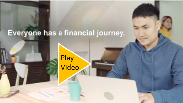 Click to play the Know My Debt Financial Journey video.